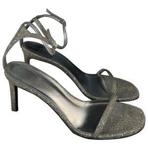 Saint Laurent silver heels